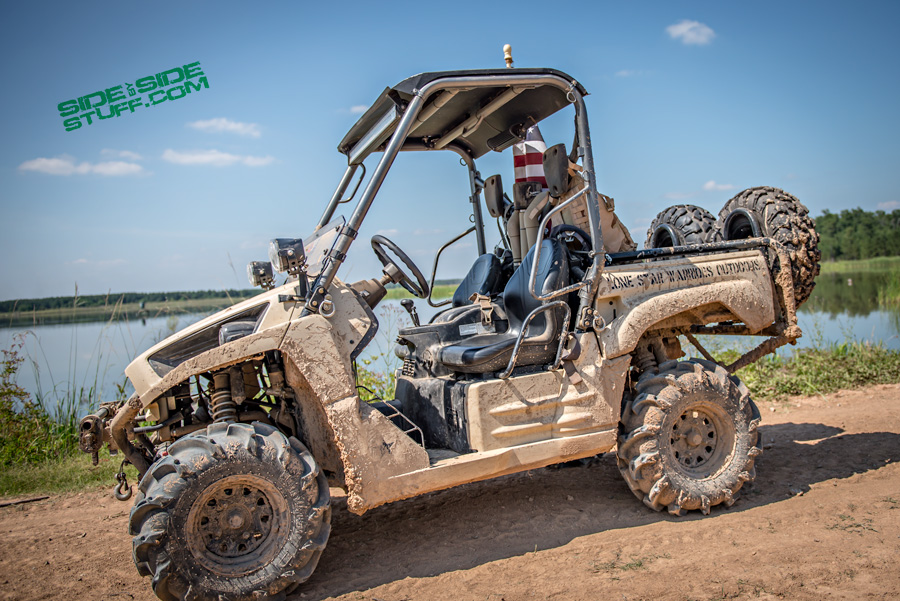 """Can You Drive On A Flat Tire >> """"Lone Star Warriors Outdoors"""" 2012 Kawasaki Teryx Designed for Military Deployment. 