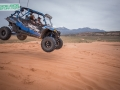Dune jumping in a XP4 900 RZR