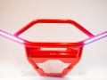 No Limit Custom Color Front Bumper - Red with LEDs