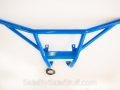 No Limit Custom Color Rear Bumper - Blue with LEDs