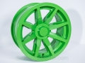 No Limit Wheels - Octane - Green powder coat.