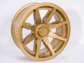 No Limit Wheels - Octane - Gold powder coat.