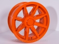 No Limit Wheels - Octane - Orange powder coat.