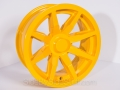 No Limit Wheels - Octane - Yellow powder coat.