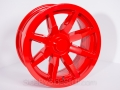 No Limit Wheels - Octane - Red powder coat.