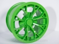 No Limit Wheels - Venom - Green powder coat.