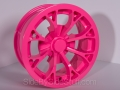 No Limit Wheels - Venom - Pink powder coat.
