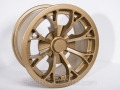 No Limit Wheels - Venom - Gold powder coat.