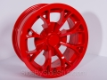 No Limit Wheels - Venom - Red powder coat.