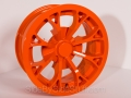 No Limit Wheels - Venom - Orange powder coat.