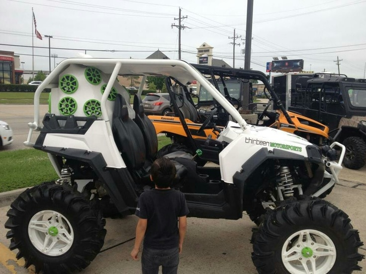 Utvs gone bad badass or just plain funny side by for Side by side homes