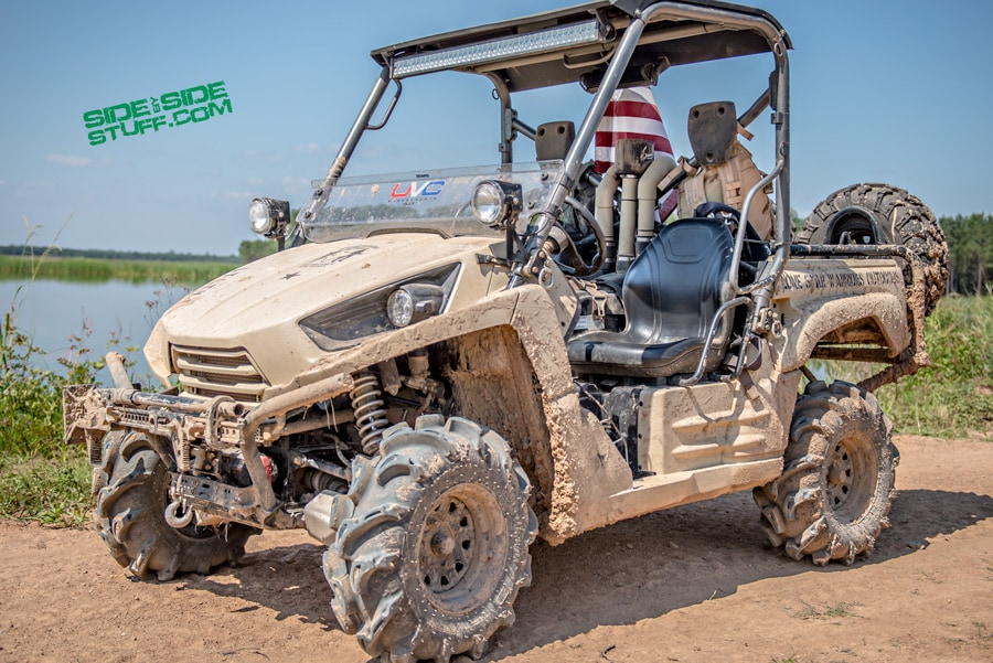 """Lone Star Warriors Outdoors"" 2012 Kawasaki Teryx Designed for Military Deployment."