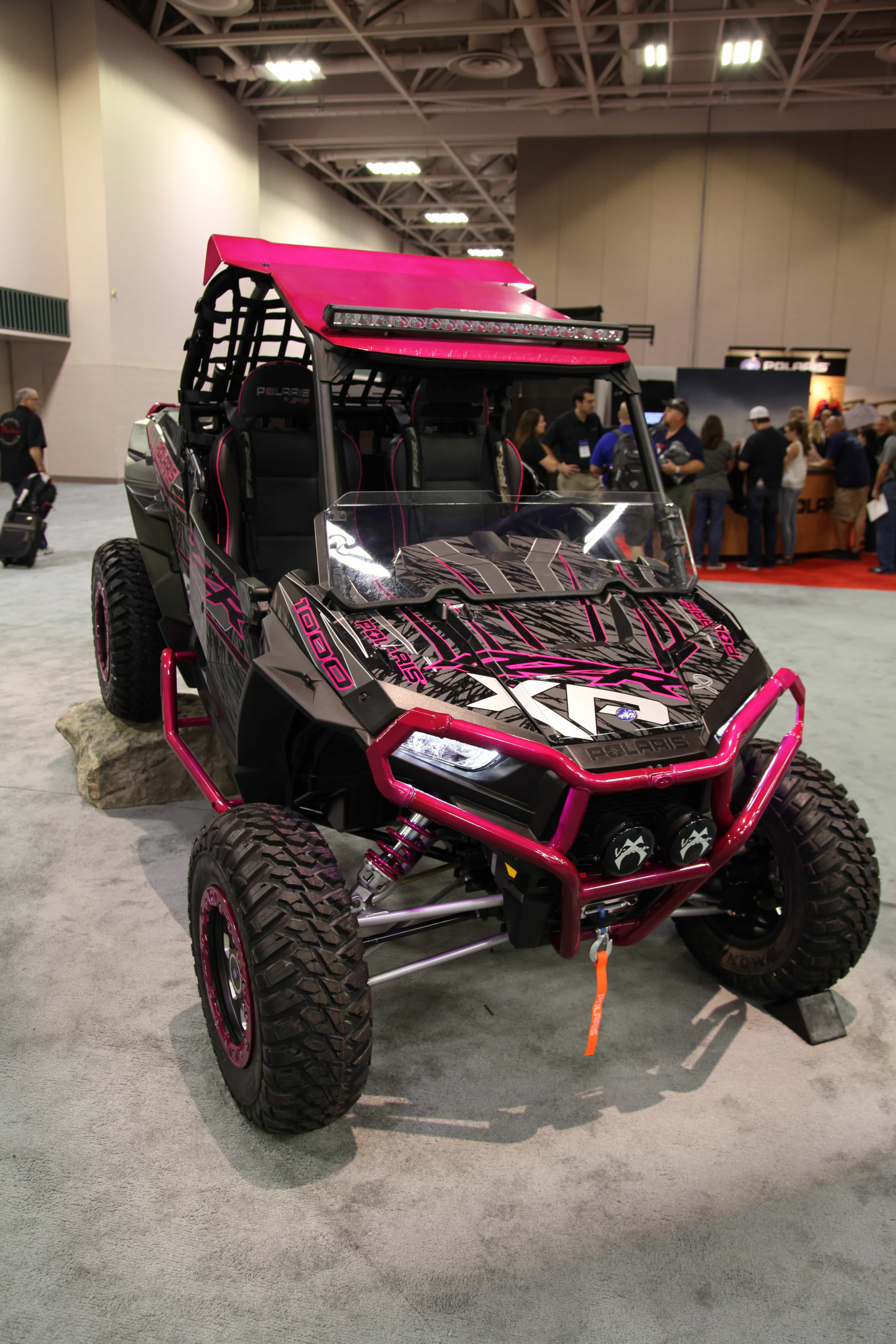 Polaris Donates Customized Rzr Xp 1000 As A Fundraiser For