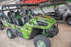2015 Kawasaki Teryx and Mule UTV lineup.