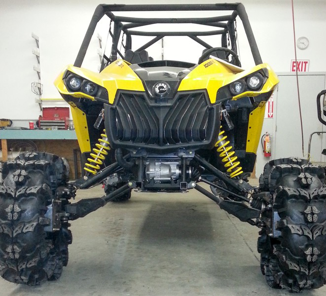 Rockcrusher Portal Box 4″ Lift Kit for Can-Am or Polaris.