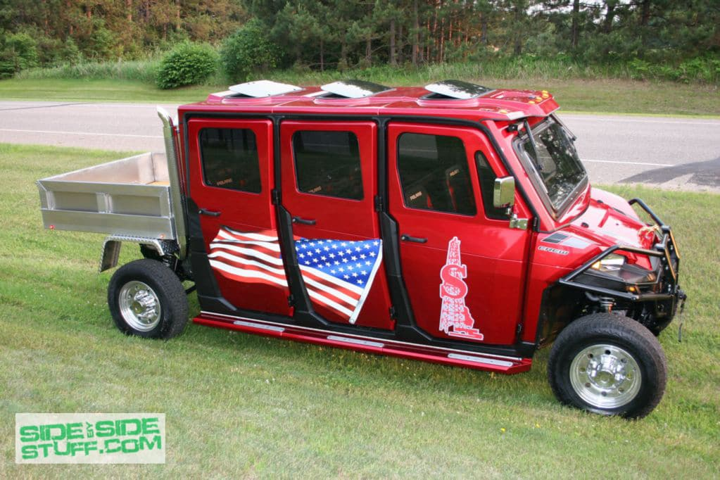 Side By Side >> Wide Open Company S Custom Ranger Limousine Side By Side Stuff