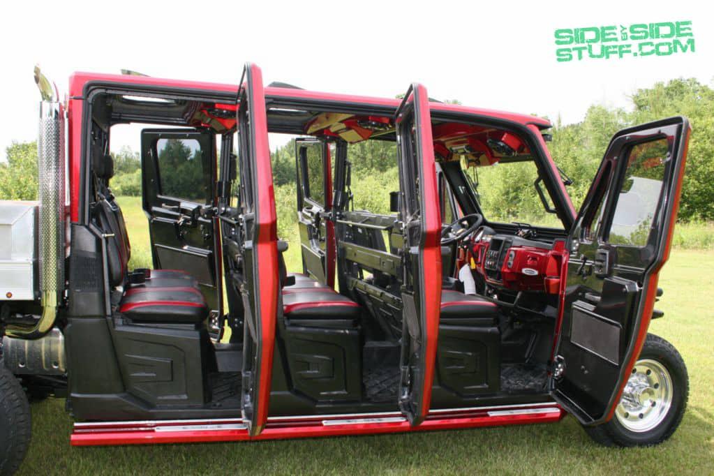 Wide Open Company S Custom Ranger Limousine Side By Side