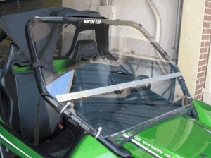Full Folding Lexan Windshield - Arctic Cat Wildcat 1000/X/4X