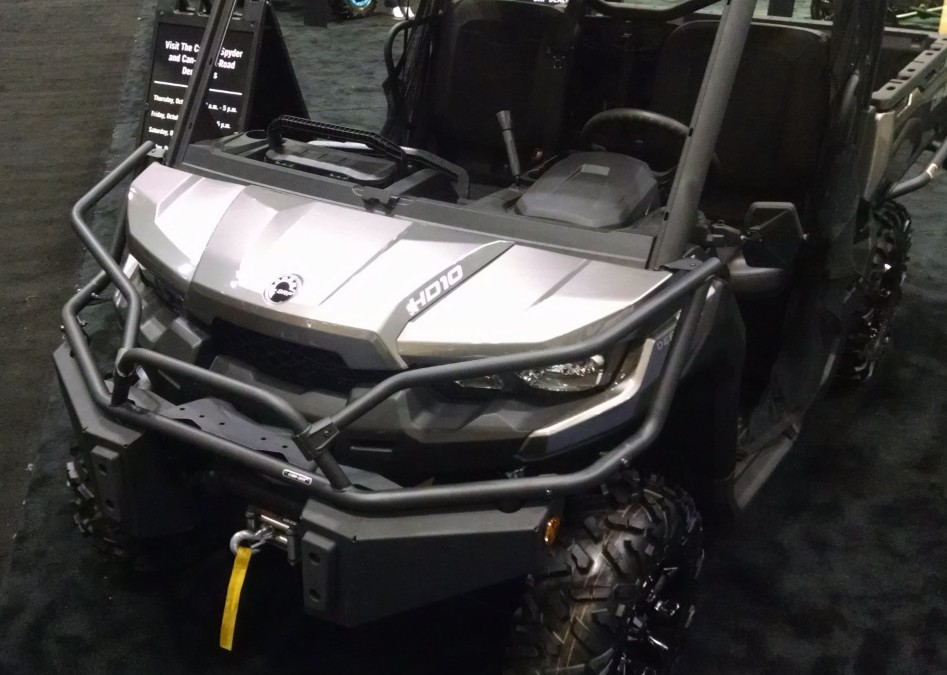 Improve the Jobsite with Can Am Defender Audio Accessories