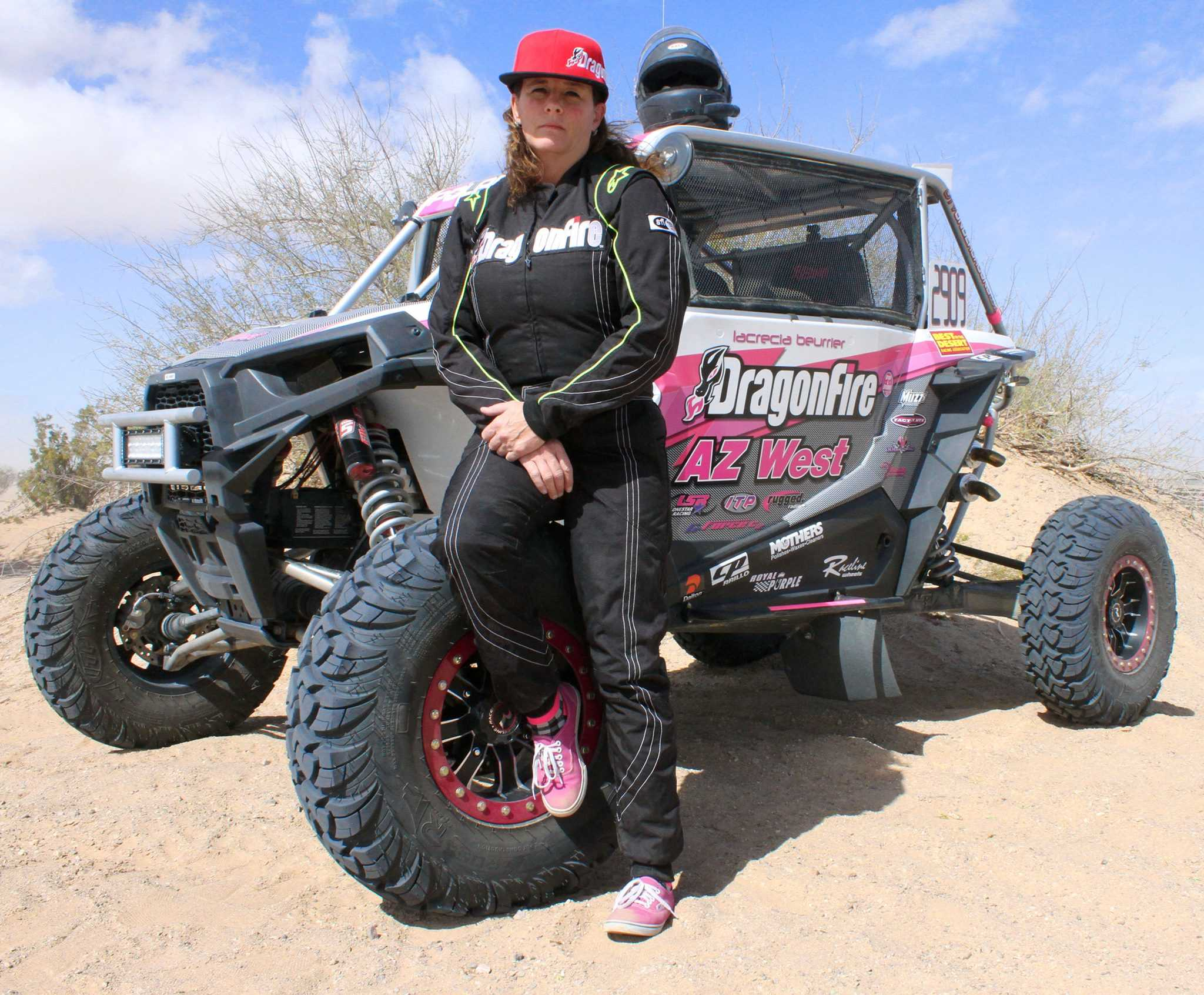 DragonFire Racing Sponsored BITD Pro Unlimited Champion, Lacrecia Beurrier: Winning At Life