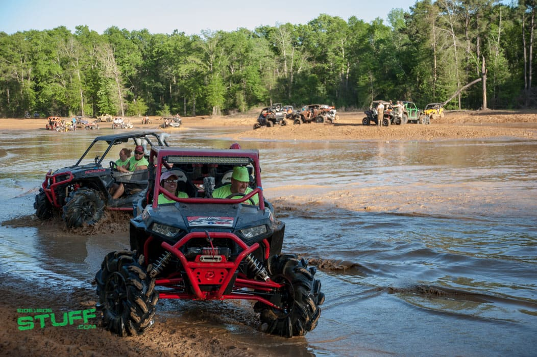 RZR mud bog water utv side by side