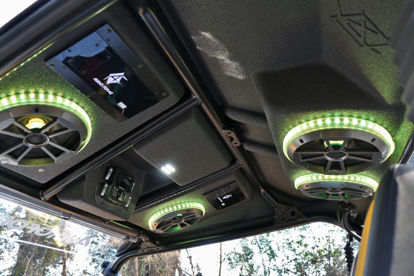 Yamaha YXZ 1000R Audio Formz UTV Stereo Top