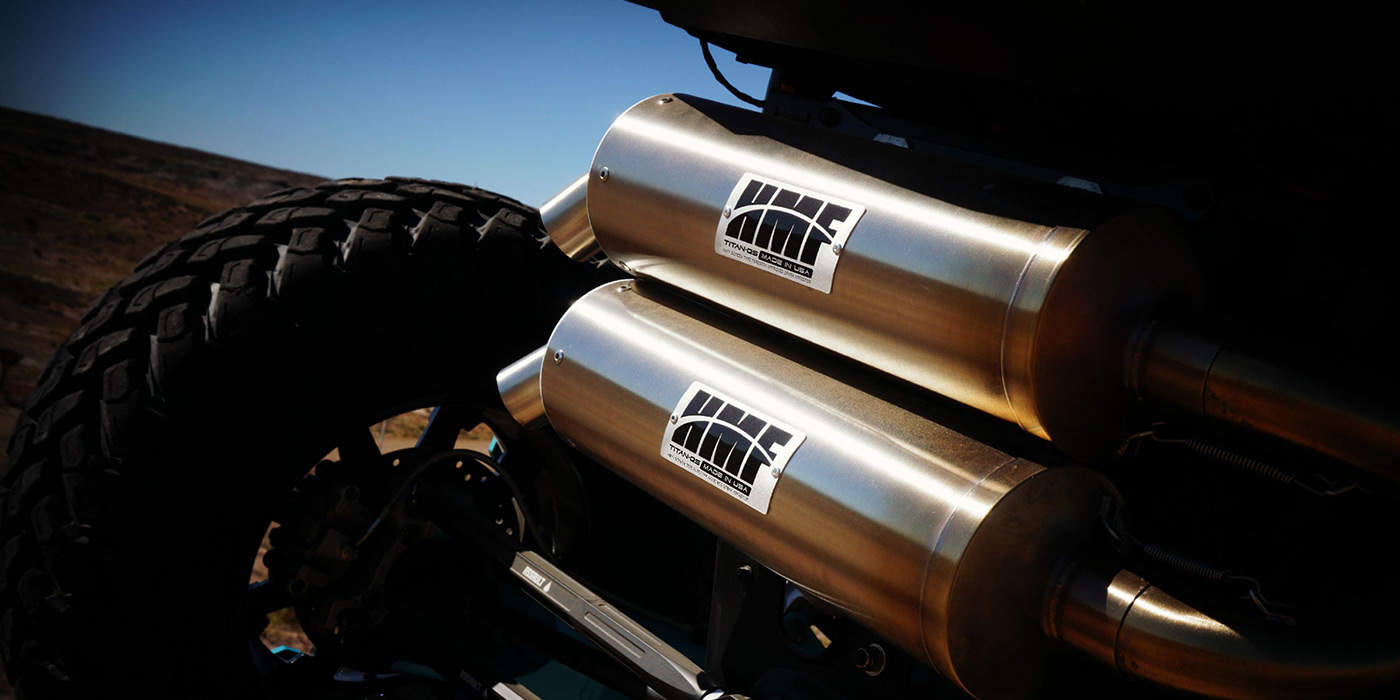 HMF Titan Series UTV exhaust