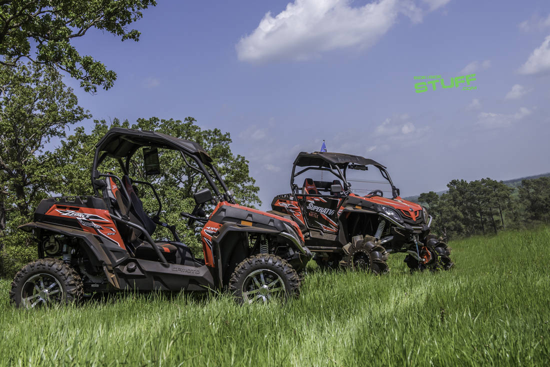 CFMOTO UForce and ZForce Audio Accessories