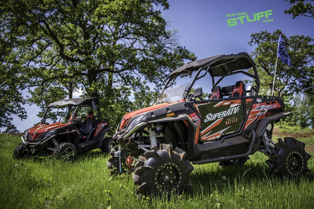 super atv outfitted cfmoto zforce 800ex side by side stuff. Black Bedroom Furniture Sets. Home Design Ideas
