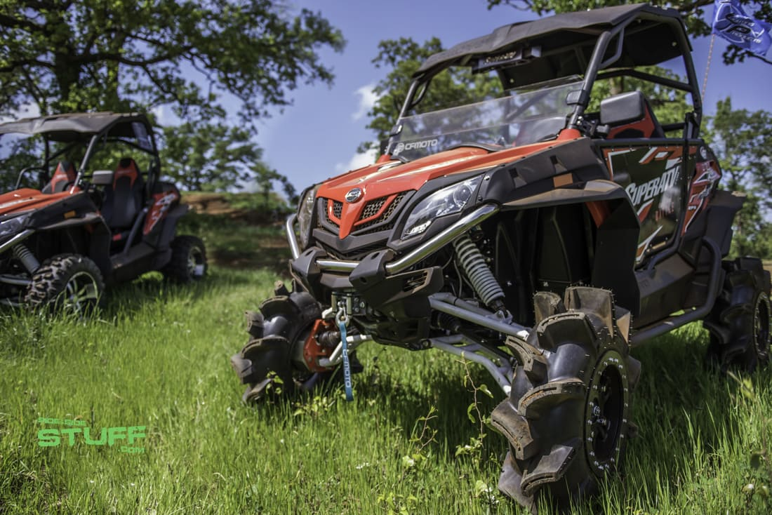 Super Atv Outfitted Cfmoto Zforce 800ex Side By Side Stuff