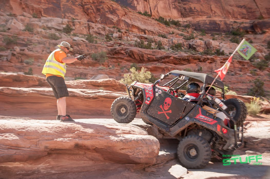 Rally on the Rocks UTV Moab Utah Cory Payne Trail Guide