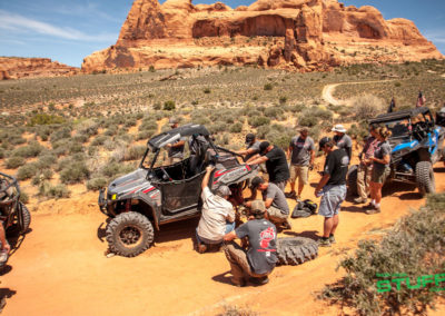 Rally on the Rocks UTV Moab Utah Polaris RZR