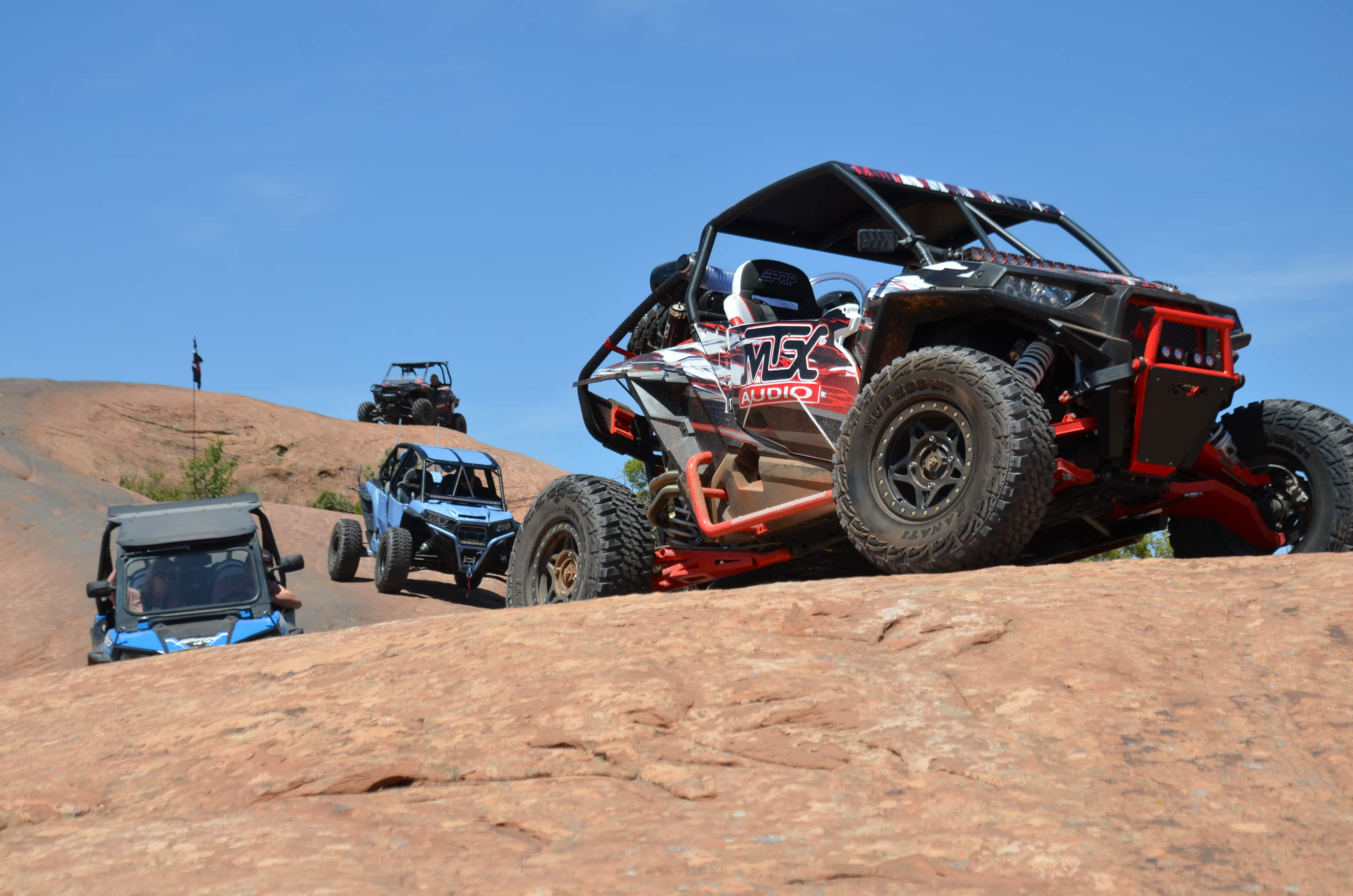 UTV audio solutions for the Polaris RZR XP by MTX Audio