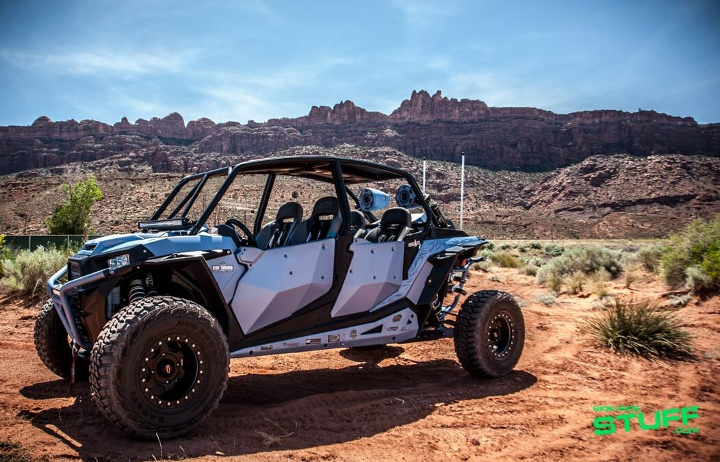 """Big Blue"", MTX Audio's Blue Thunder Edition Polaris RZR XP 4 Turbo"