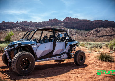 MTX Audio's Blue Thunder Edition Polaris RZR XP 4 Turbo
