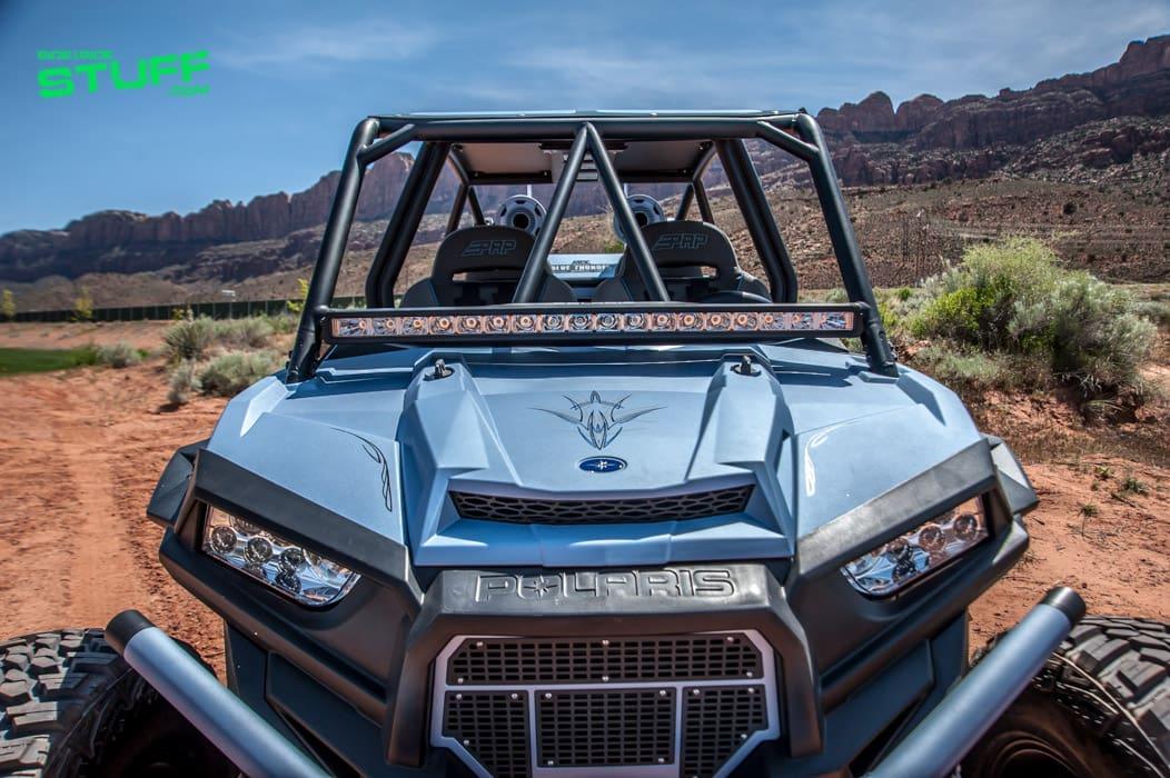 MTX Audio's Blue Thunder Edition Polaris RZR XP 4 Turbo
