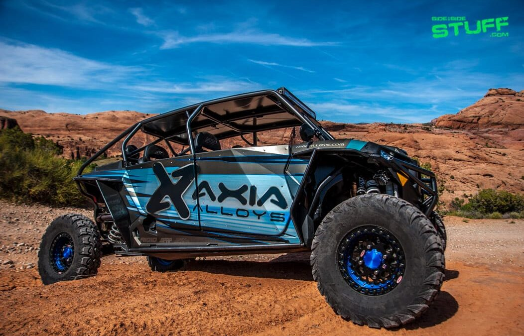 The Axia Alloys 2016 Polaris RZR XP 4 Turbo