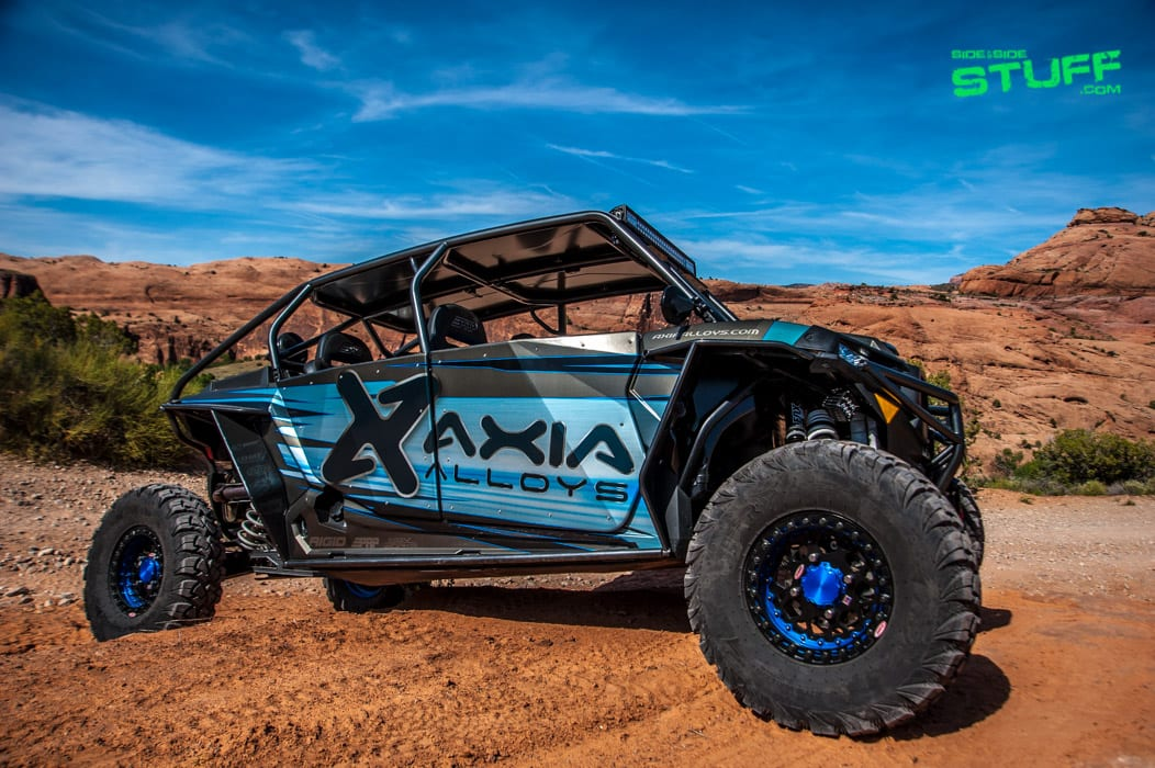 the axia alloys 2016 polaris rzr xp 4 turbo side by side. Black Bedroom Furniture Sets. Home Design Ideas
