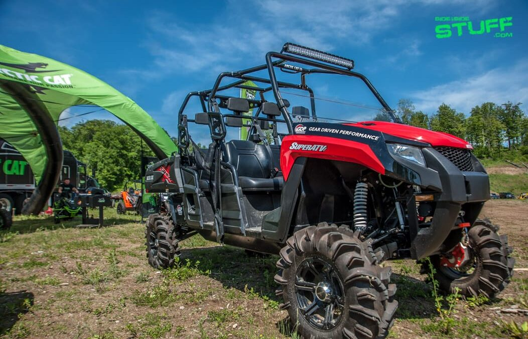 Super ATV Outfitted Arctic Cat HDX 700 Crew XT