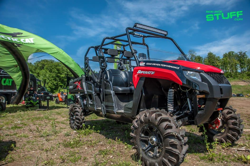 Super ATV Arctic Cat HDX XT