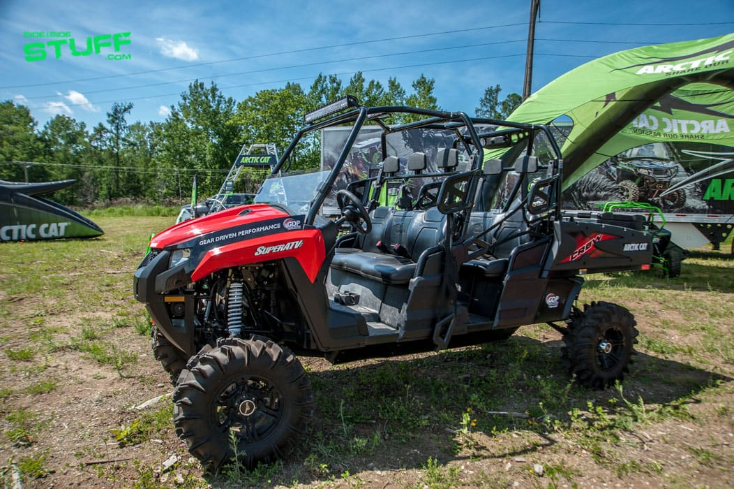 Super ATV Outfitted Arctic Cat HDX Crew XT | Side By Side ...