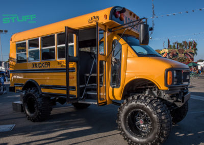 Sand Sports Super Show Kicker School Bus