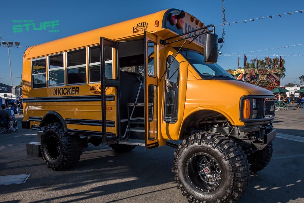 Sand Sports Super Show Kicker School Bus