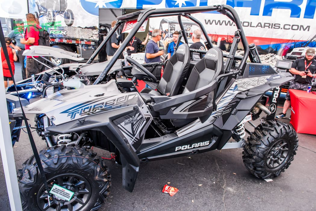 2017 Polaris RZR XP Turbo Sand Sports Super Show