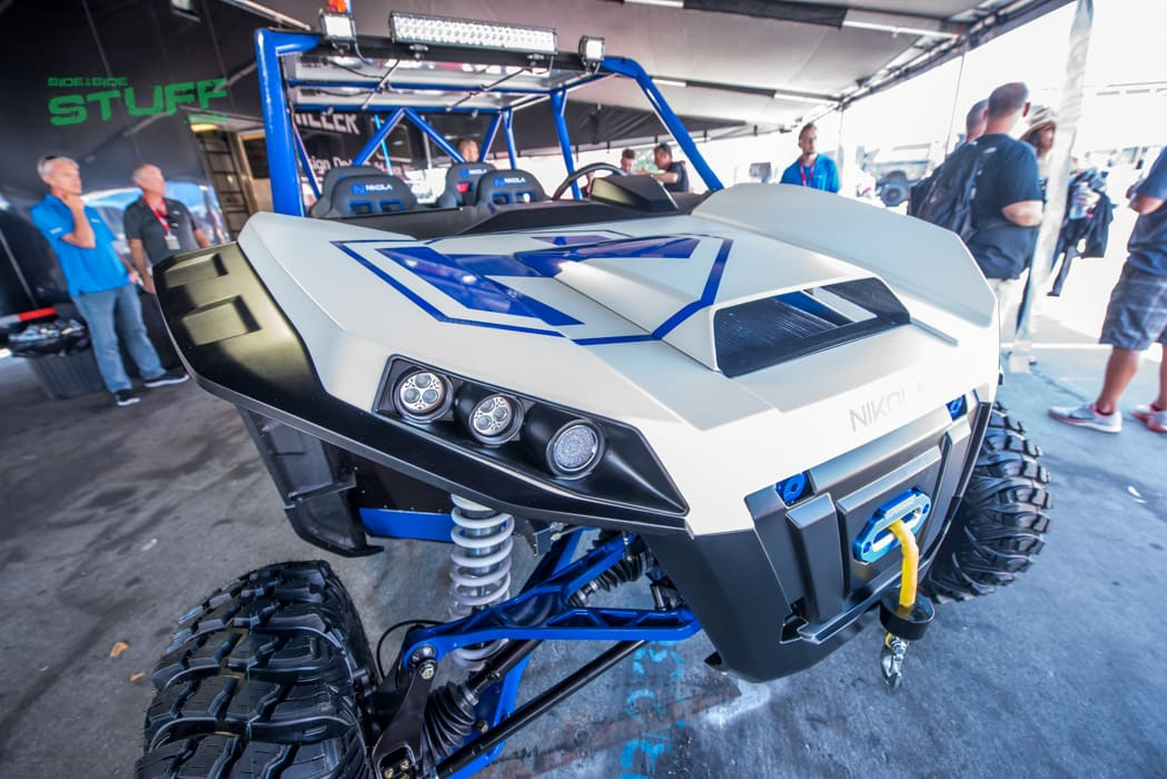 Nikola Electric Side By Side Sand Sports Super Show