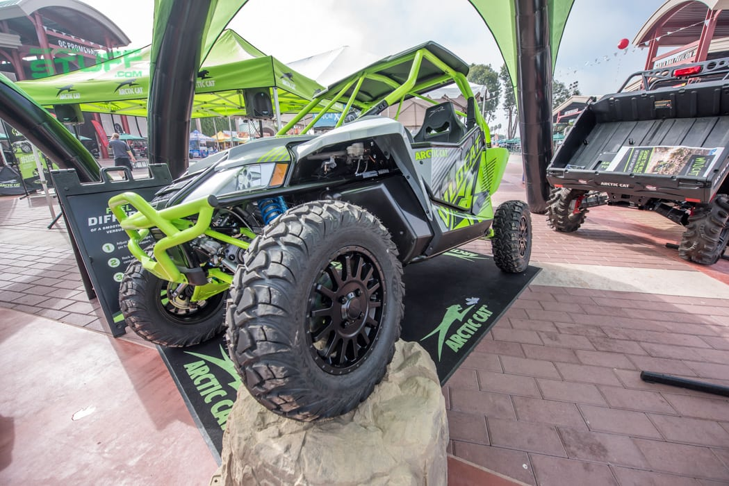 Arctic Cat Wildcat X Robby Gordon Sand Sports Super Show