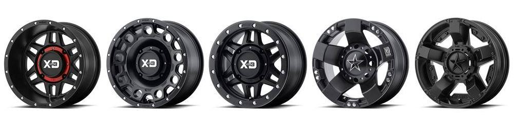 KMC XD and Rockstar Wheels Now Available for UTVs