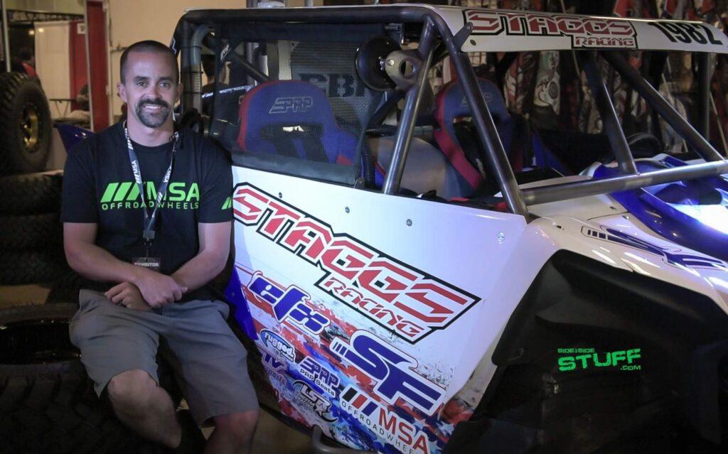 Jeremiah Staggs Pro UTV Racer Sand Sports Super Show
