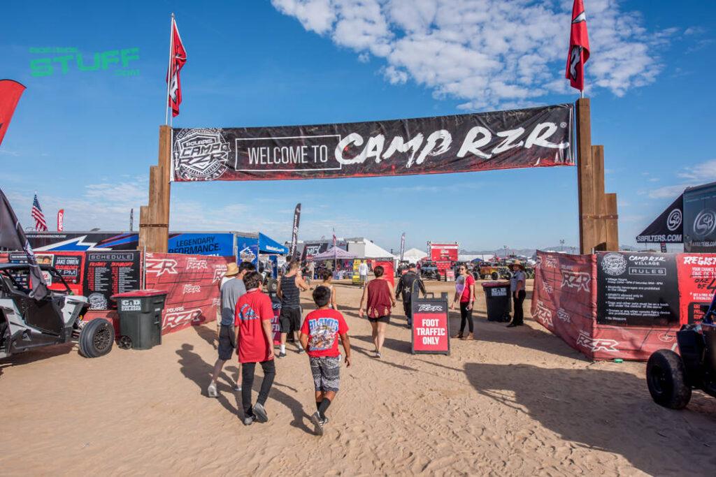 Camp RZR Glamis