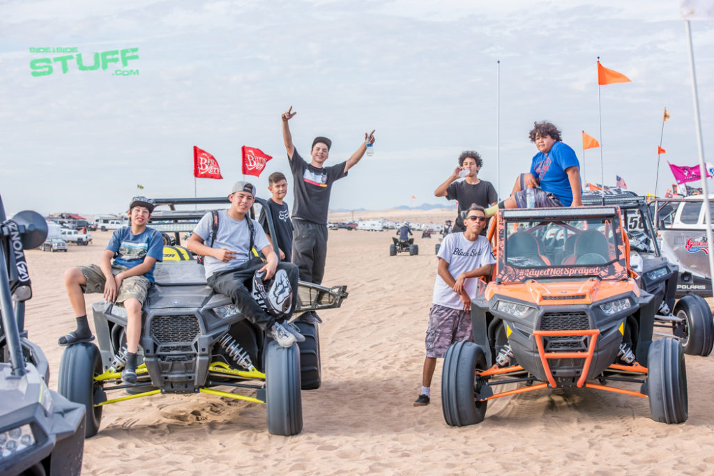 Kids Camp RZR Glamis